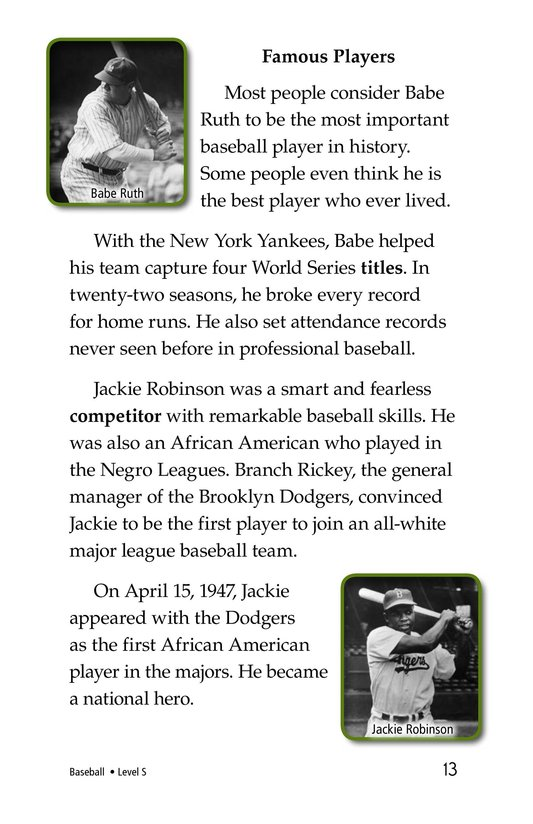 Book Preview For Baseball Page 13