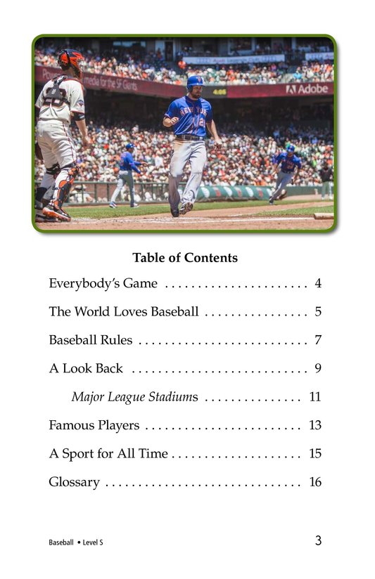 Book Preview For Baseball Page 3