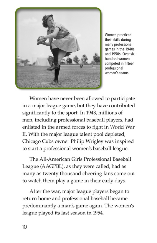 Book Preview For Baseball Page 10