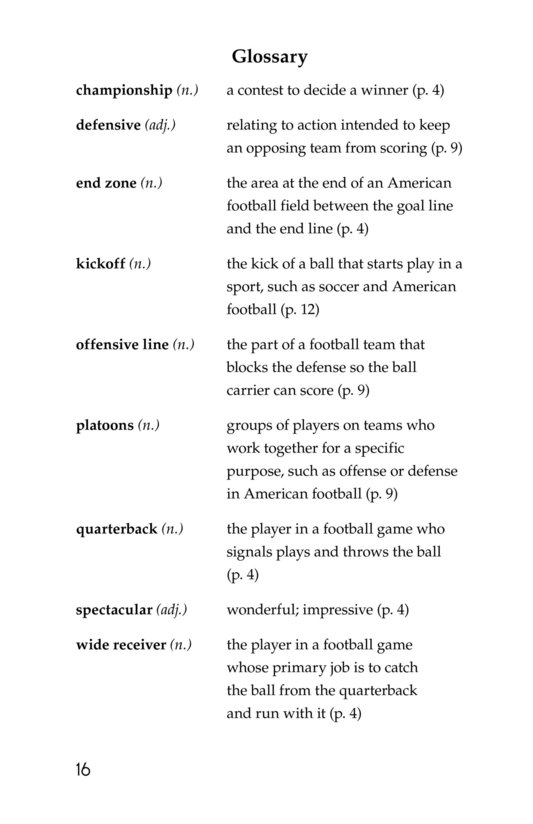 Book Preview For American Football Page 16