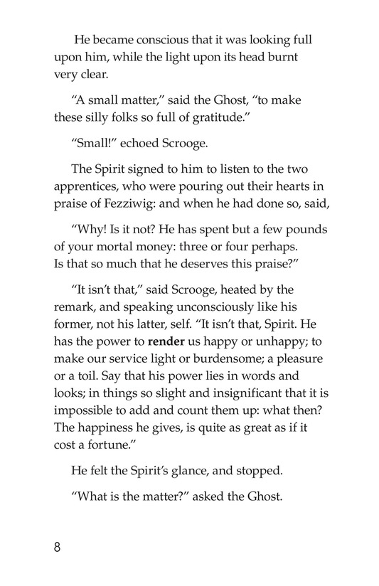 Book Preview For A Christmas Carol (Part 4) Page 8