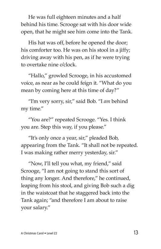 Book Preview For A Christmas Carol (Part 10) Page 13