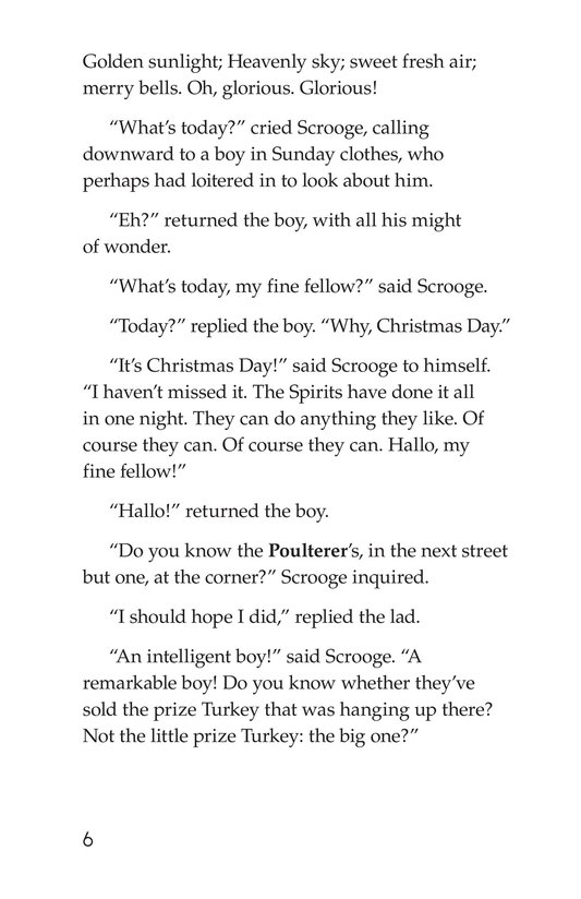 Book Preview For A Christmas Carol (Part 10) Page 6
