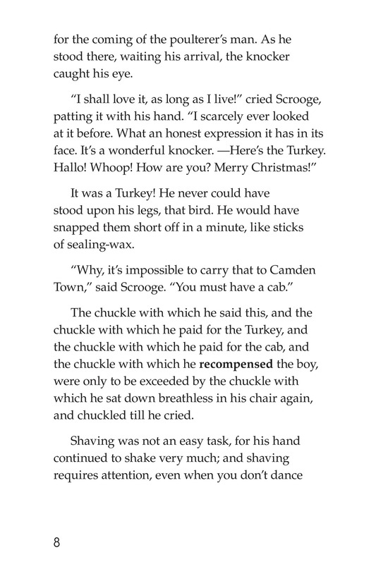 Book Preview For A Christmas Carol (Part 10) Page 8