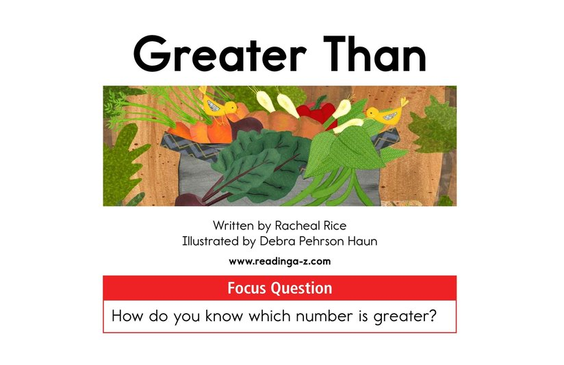Book Preview For Greater Than Page 1