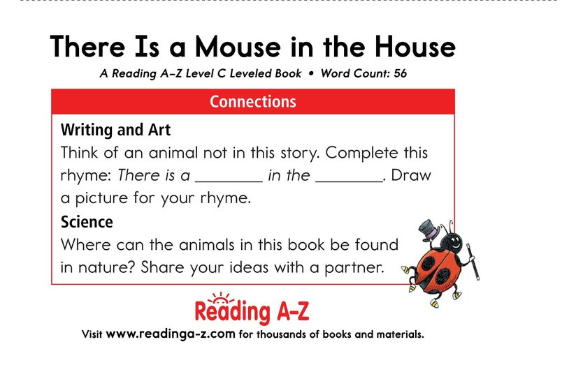 Book Preview For There Is a Mouse in the House Page 11