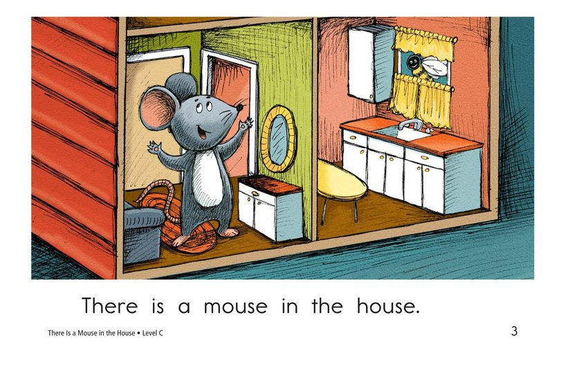 Book Preview For There Is a Mouse in the House Page 3