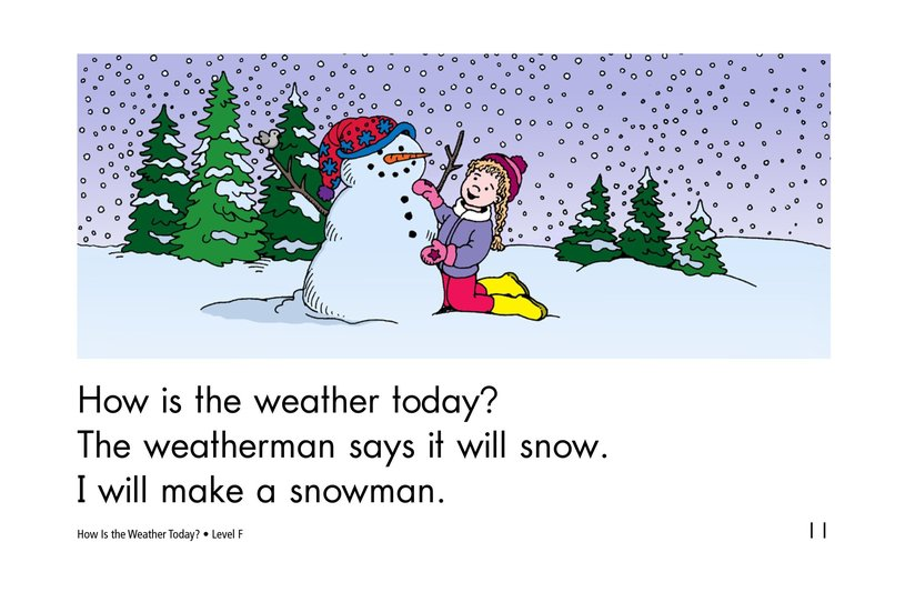 Book Preview For How Is the Weather Today? Page 11