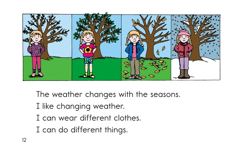 Book Preview For How Is the Weather Today? Page 12