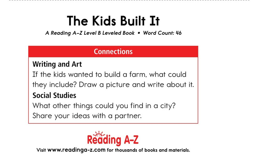 Book Preview For The Kids Built It Page 11
