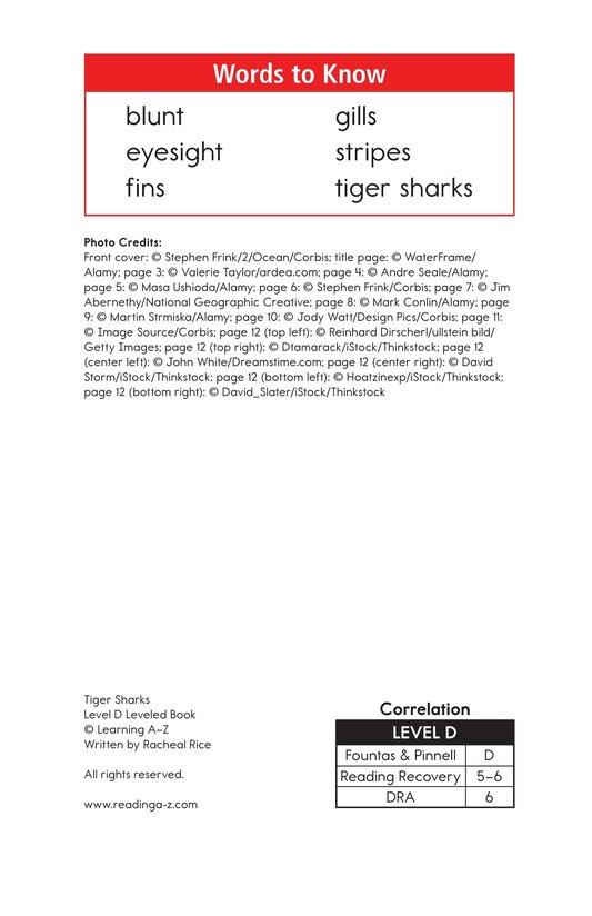 Book Preview For Tiger Sharks Page 2