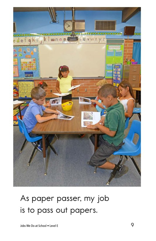 Book Preview For Jobs We Do at School Page 9