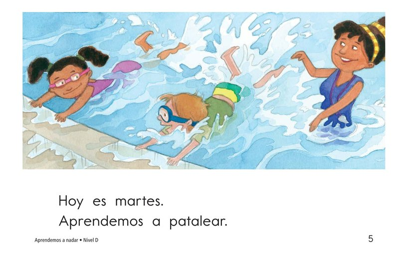 Book Preview For We Learn to Swim Page 5