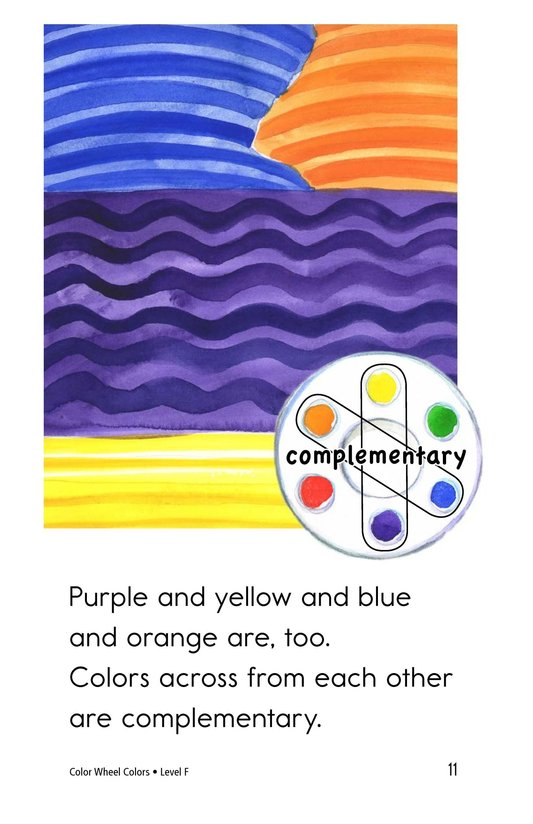 Book Preview For Color Wheel Colors Page 11