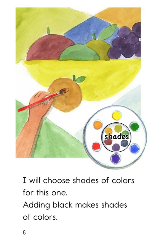 Book Preview For Color Wheel Colors Page 8