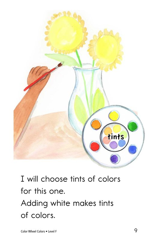 Book Preview For Color Wheel Colors Page 9
