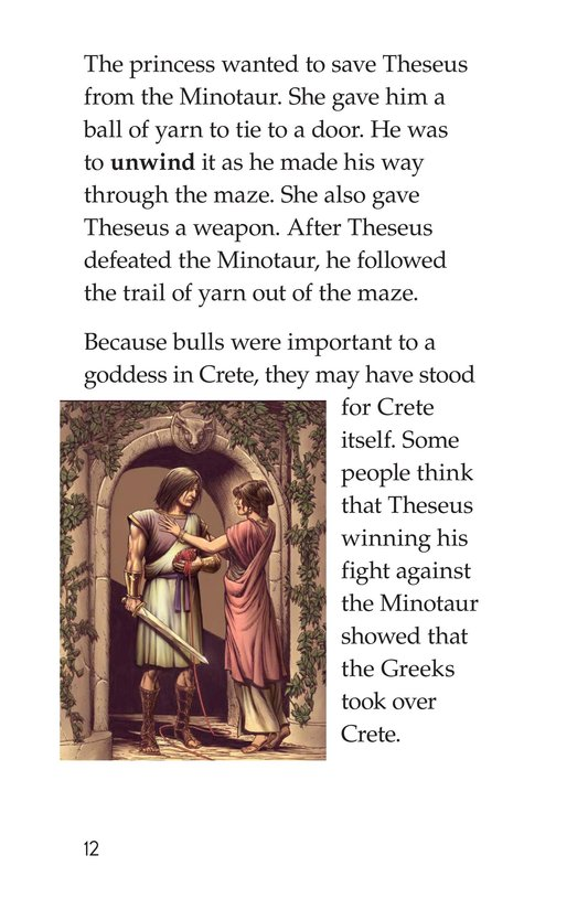 Book Preview For Mythical Creatures of Ancient Greece Page 12