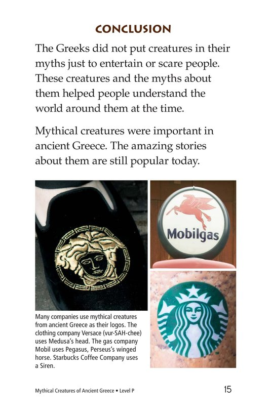 Book Preview For Mythical Creatures of Ancient Greece Page 15