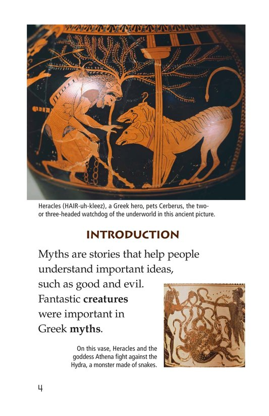 Book Preview For Mythical Creatures of Ancient Greece Page 4