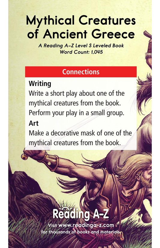 Book Preview For Mythical Creatures of Ancient Greece Page 17