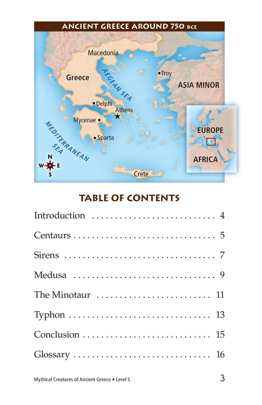 Book Preview For Mythical Creatures of Ancient Greece Page 3