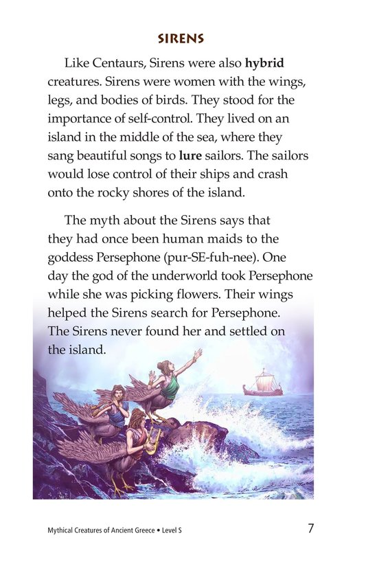 Book Preview For Mythical Creatures of Ancient Greece Page 7