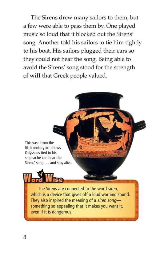 Book Preview For Mythical Creatures of Ancient Greece Page 8