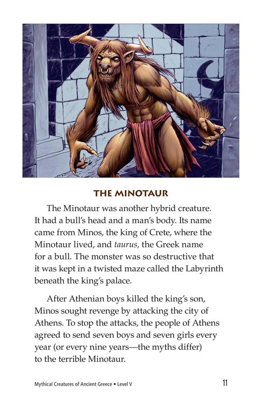 Book Preview For Mythical Creatures of Ancient Greece Page 11