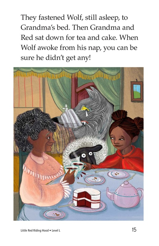 Book Preview For Little Red Riding Hood Page 15