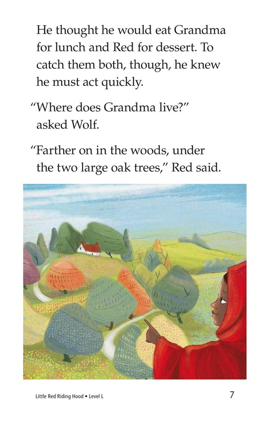 Book Preview For Little Red Riding Hood Page 7