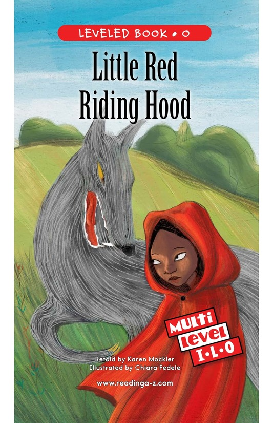 Book Preview For Little Red Riding Hood Page 0