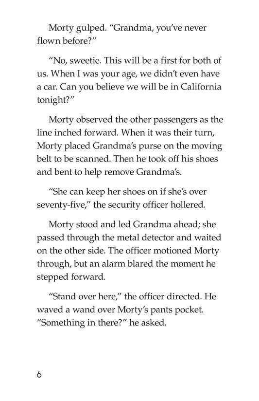 Book Preview For Captain Morty Commands the Sky Page 6