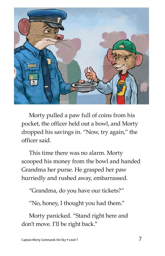 Book Preview For Captain Morty Commands the Sky Page 7