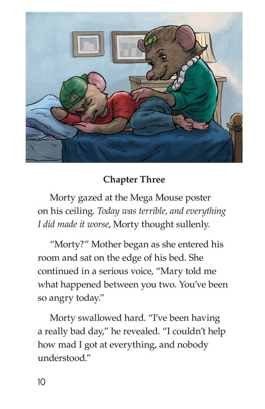 Book Preview For Morty the Meany Page 10