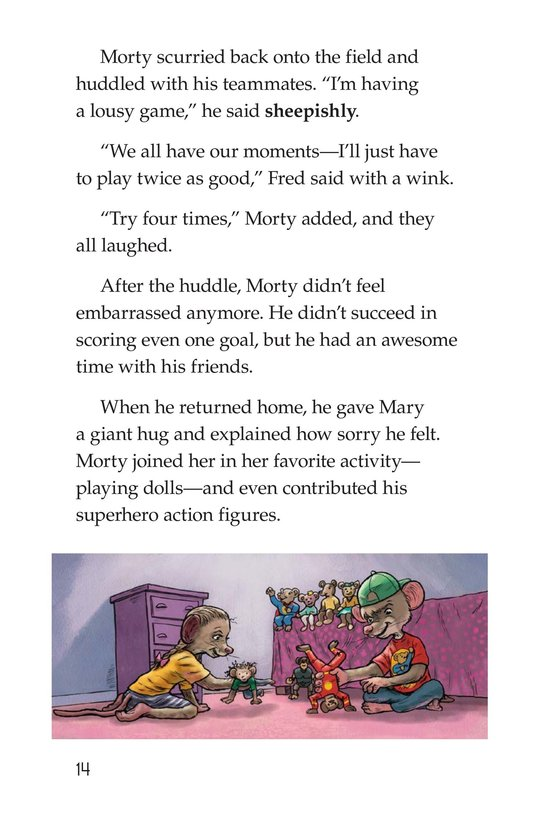 Book Preview For Morty the Meany Page 14