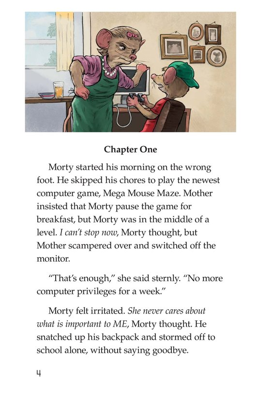 Book Preview For Morty the Meany Page 4