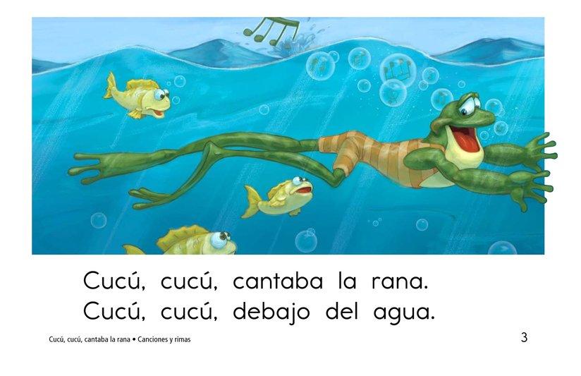 Book Preview For Cucú, cucú, cantaba la rana Page 3