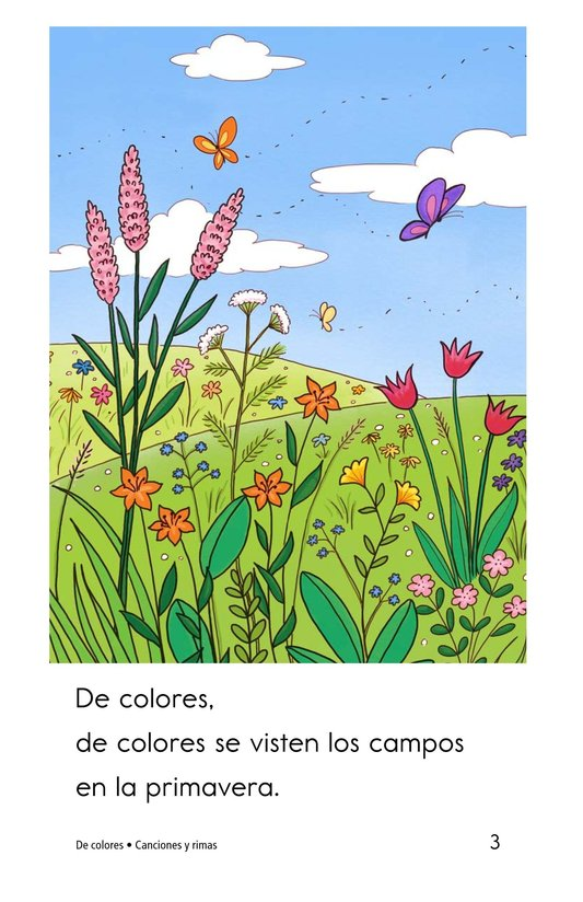 Book Preview For De colores Page 3