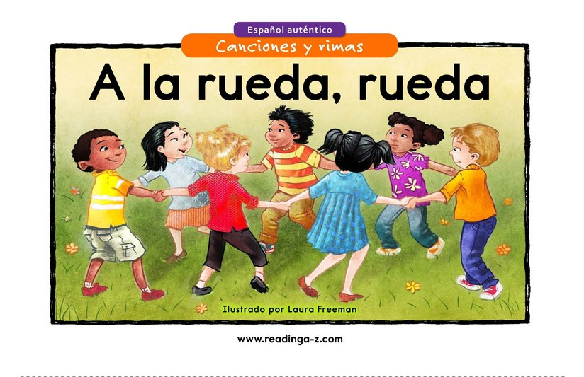 Book Preview For A la rueda, rueda Page 1