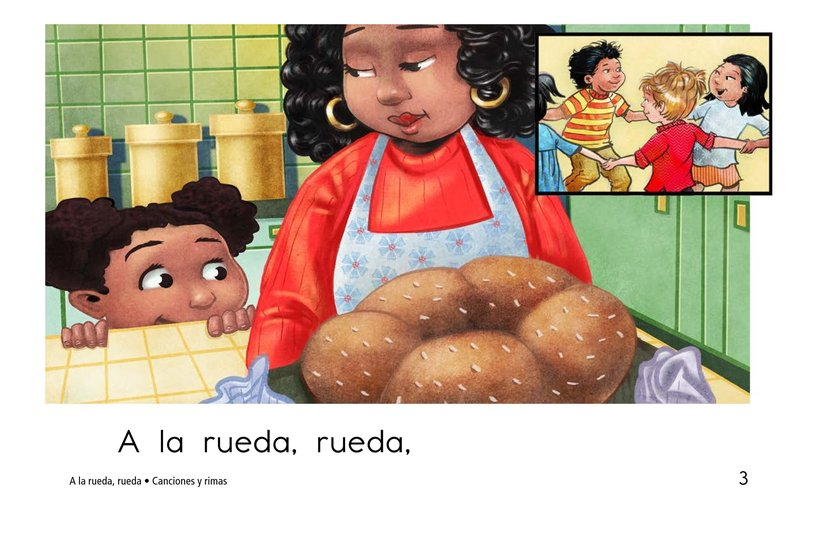 Book Preview For A la rueda, rueda Page 3