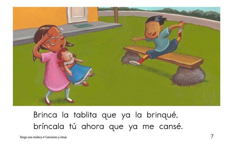 Book Preview For Tengo una muñeca Page 7