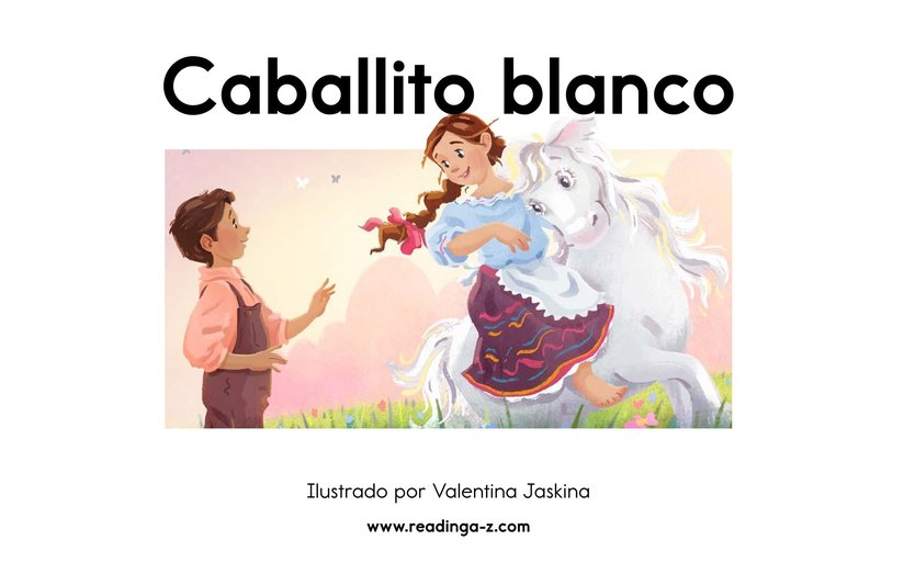 Book Preview For Caballito blanco Page 2