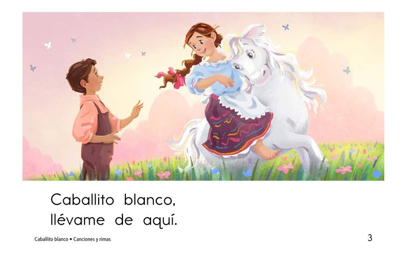 Book Preview For Caballito blanco Page 3