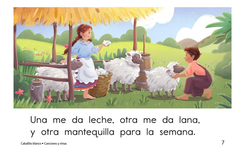 Book Preview For Caballito blanco Page 7