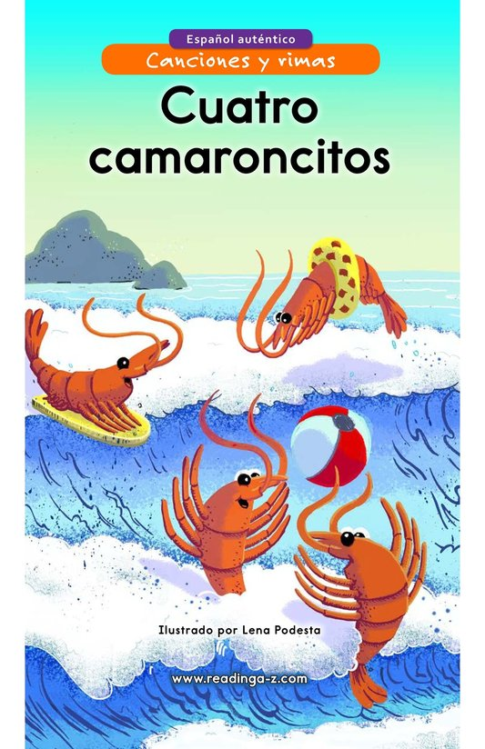 Book Preview For Cuatro camaroncitos Page 1