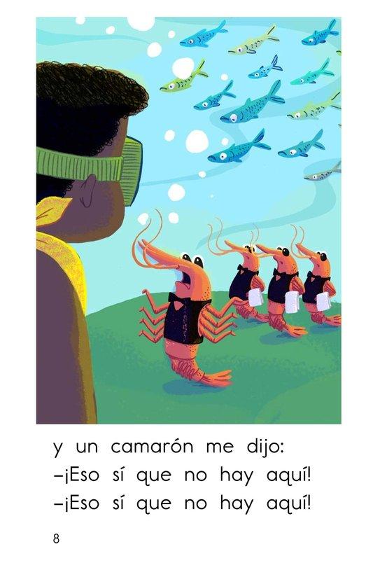 Book Preview For Cuatro camaroncitos Page 8
