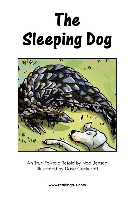 Book Preview For The Sleeping Dog Page 2