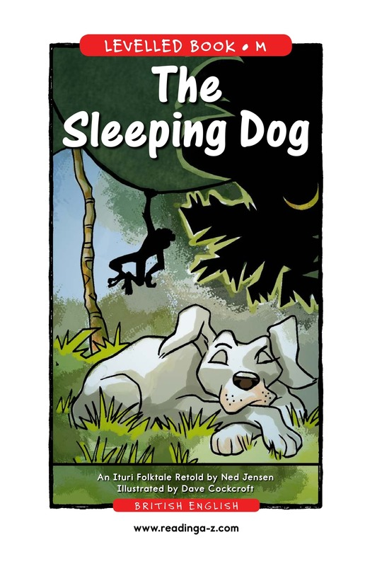 Book Preview For The Sleeping Dog Page 1