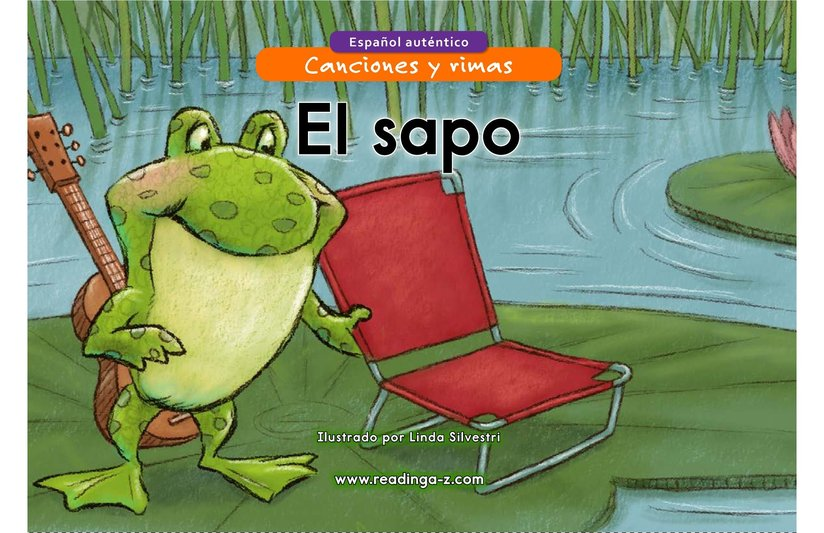 Book Preview For El sapo Page 1