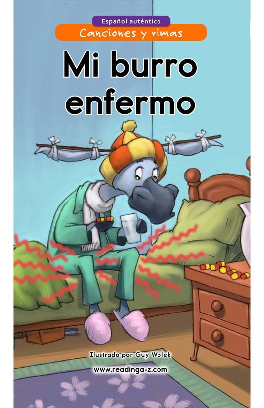 Book Preview For Mi burro enfermo Page 1